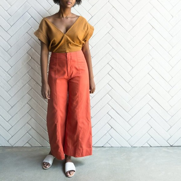 esby Pants - Esby Lucia Pant in Tomato